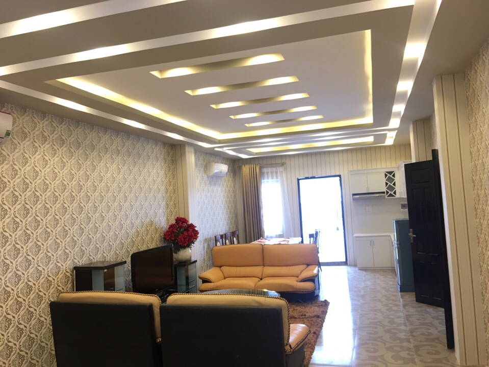 Furnished apartment for rent at Van Cao str., Hai Phong city